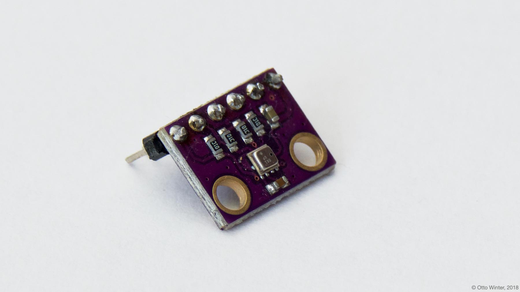 BME280 Temperature+Pressure+Humidity Sensor — ESPHome